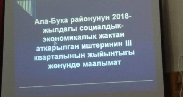 Райондук мамлекеттик администрациясынын кезектеги коллегиясы.