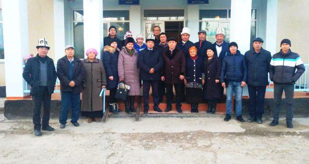 Райондук мамлекеттик администрациясынын башчысынын Өрүктү айыл аймагына иш-сапары…